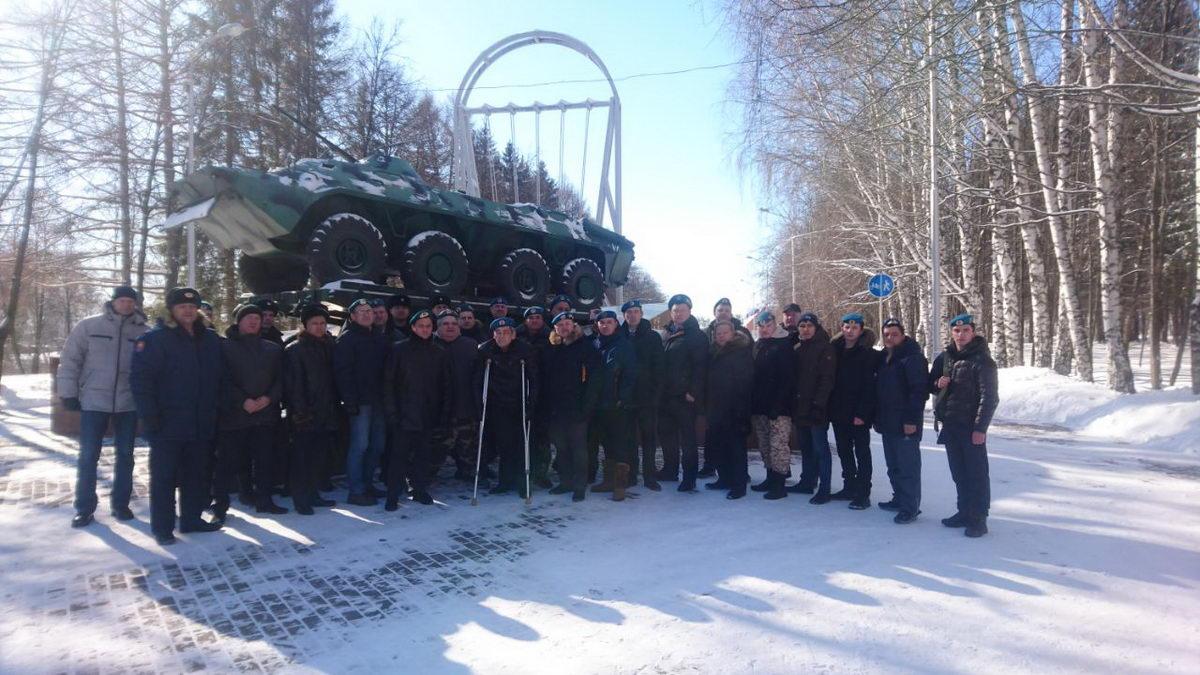 В Уфе почтили память десантников-уроженцев Башкортостана, погибших при выполнении воинского долга