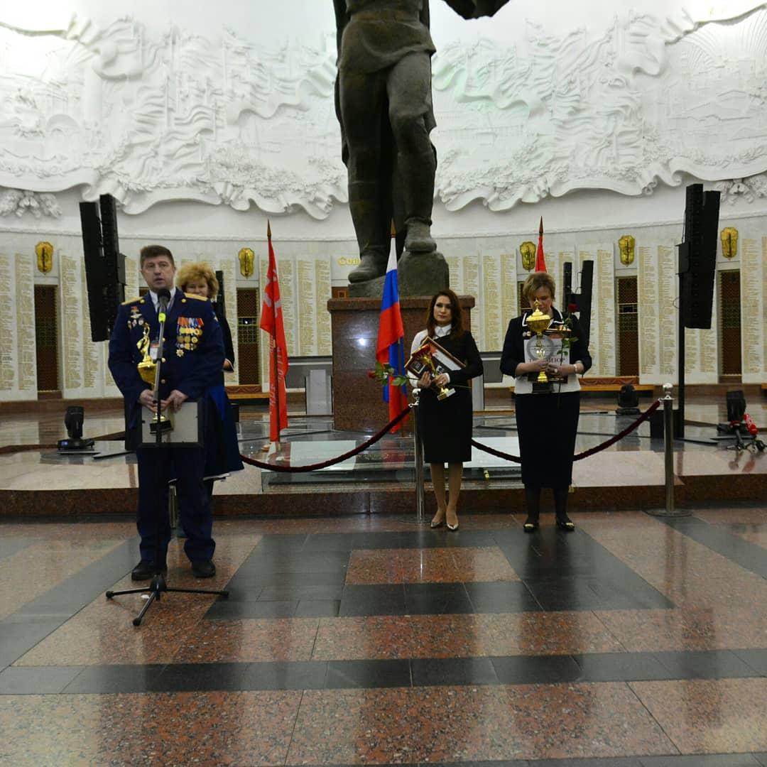 Конкурс руководителей и курсантов военно-патриотических клубов