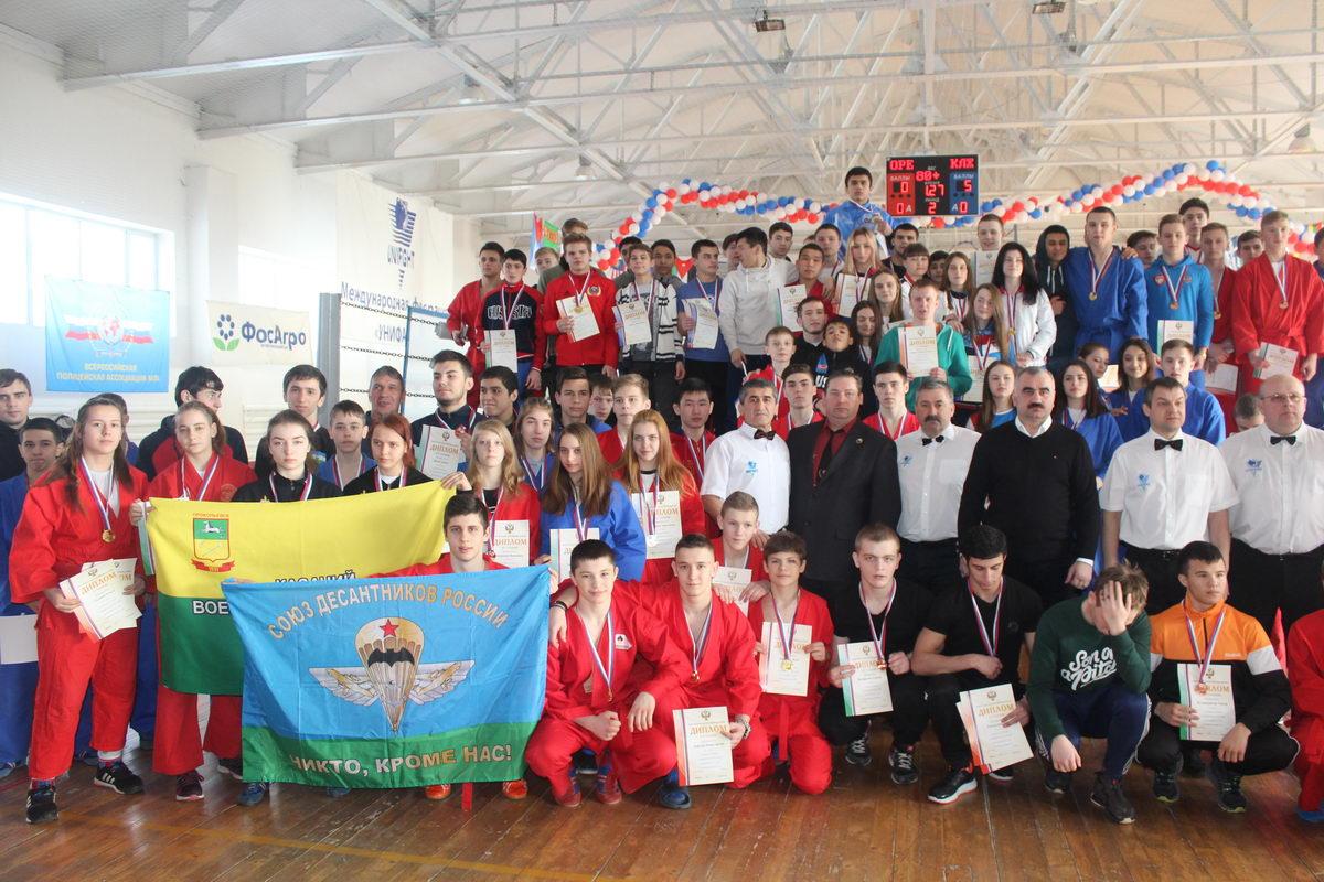 Бронзовые призёры первенства России