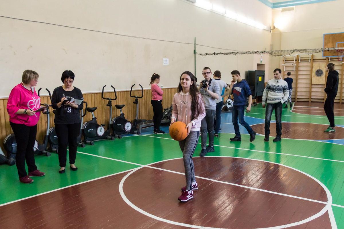 Спортивные соревнования для учащихся техникума