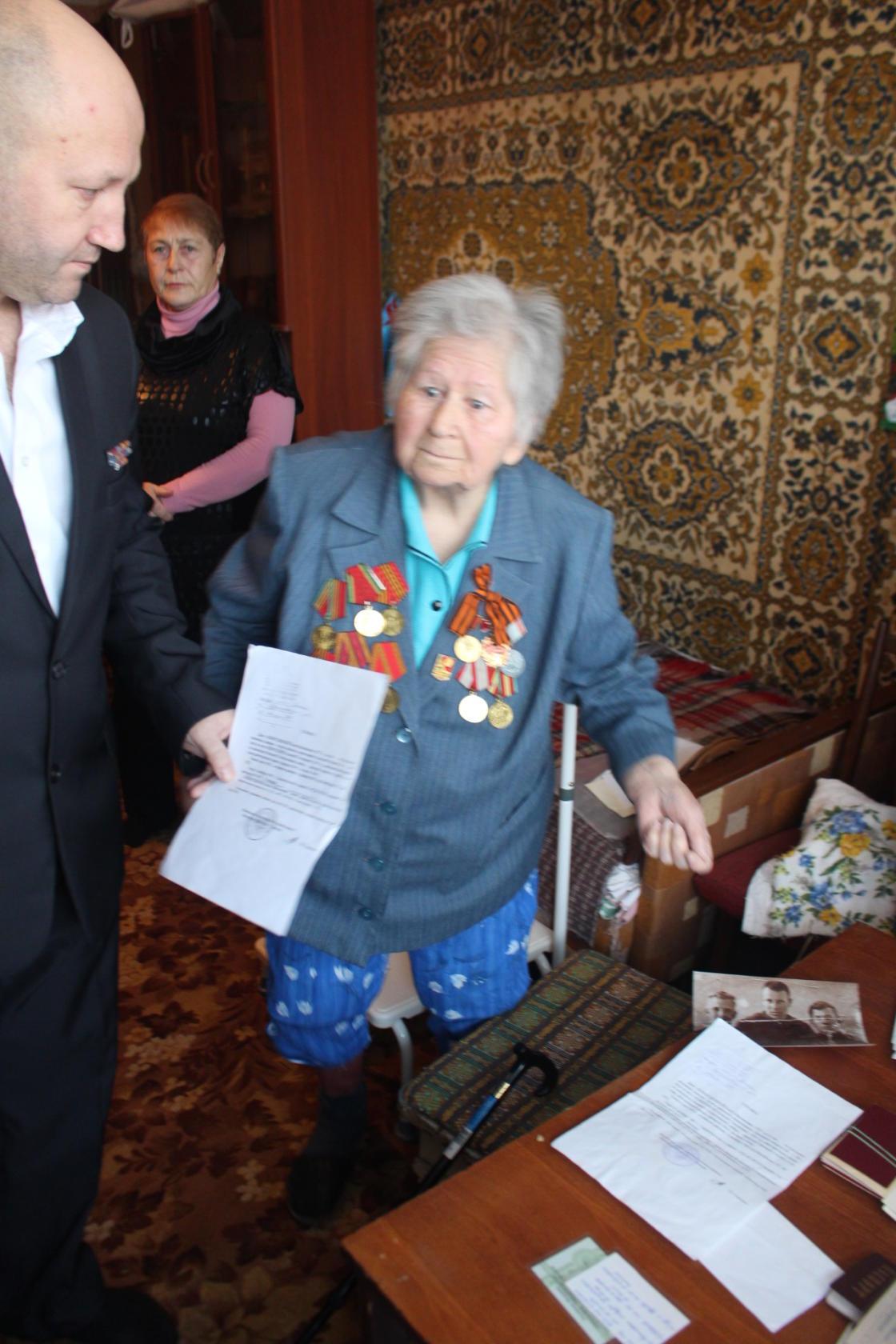 Адресная реабилитационная помощь ветерану Великой Отечественной войны