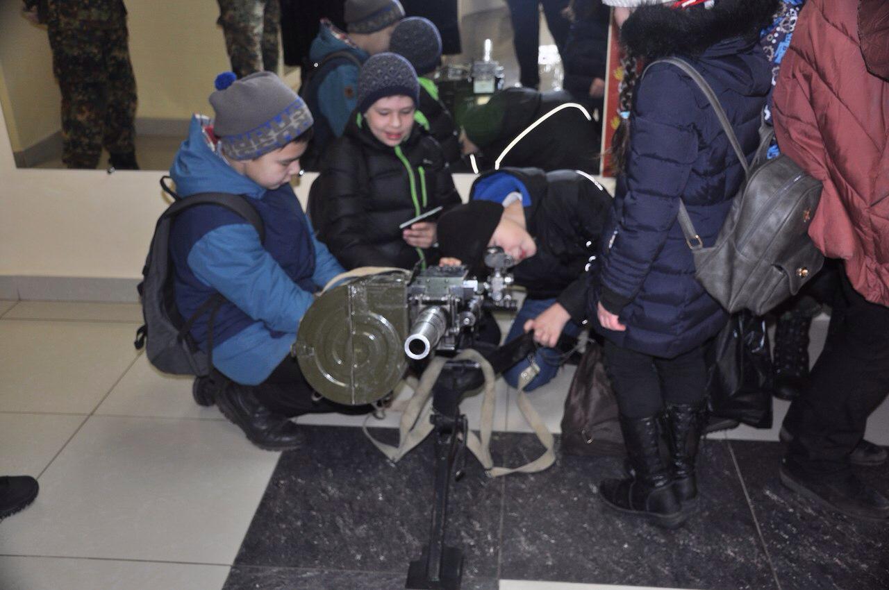 Молодёжь Башкортостана в гостях у спецназовцев