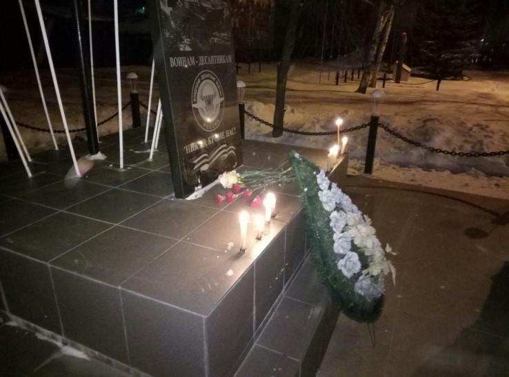 Десантники Башкортостана почтили память погибших десантников