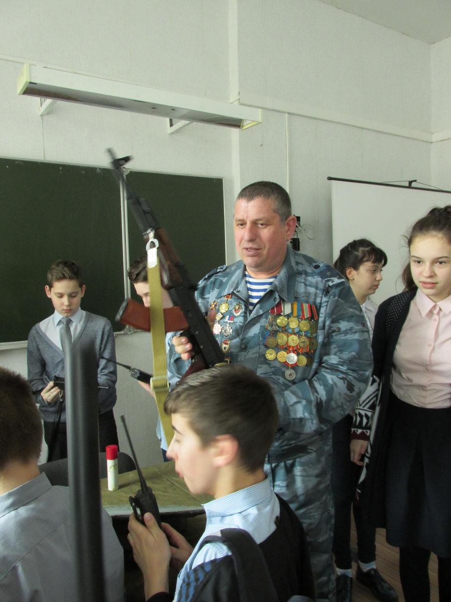Урок Памяти в СОШ № 24 г. Липецка
