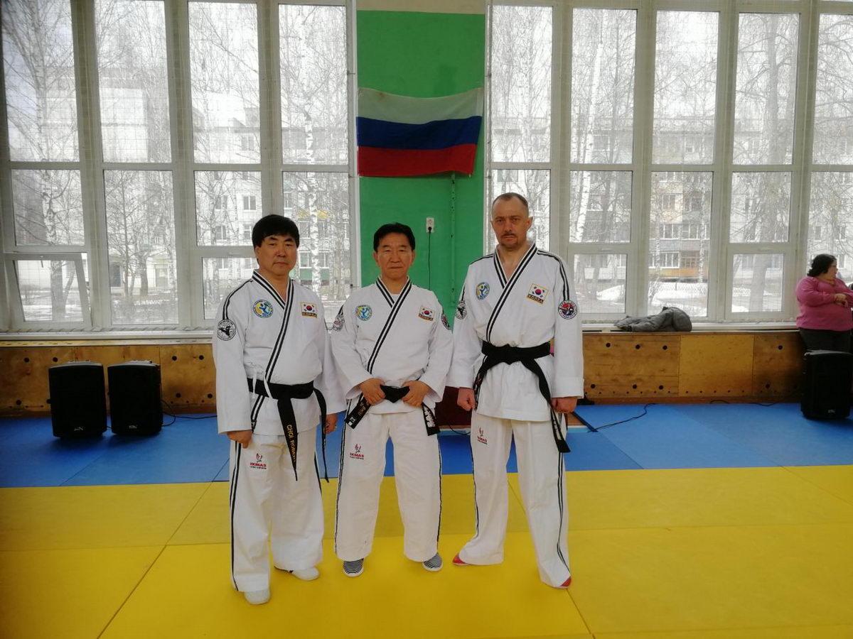I международный учебно -методический семинар по корейскому боевому искусству Хапкидо