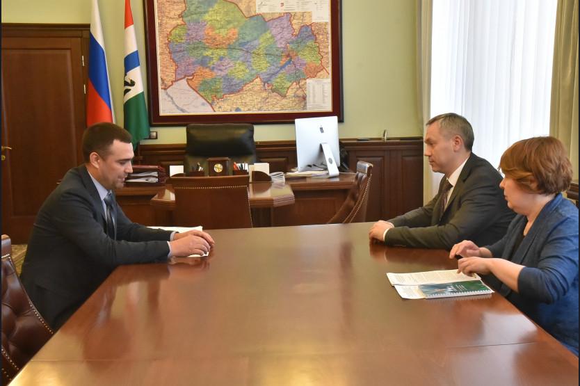 Глава области Андрей Травников обсудил вопросы поддержки ветеранов вооруженных сил