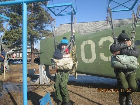 Прыжки с парашютом в п.Оёк