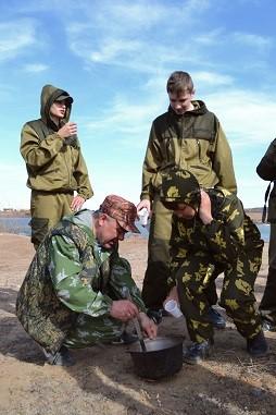 Полевой выход 14 апреля 2018г. в пос. Усть-Куда под Иркутском