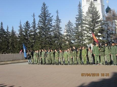 Вахта памяти, посвященная Дню Победы