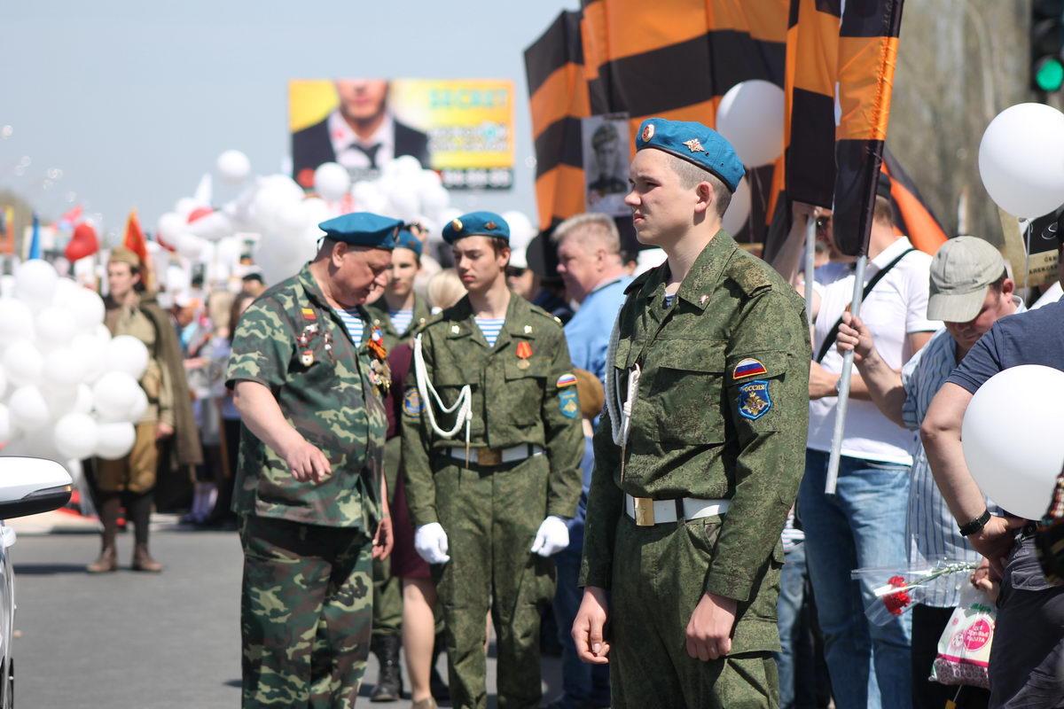 Акция «Бессмертный полк» в Тольятти