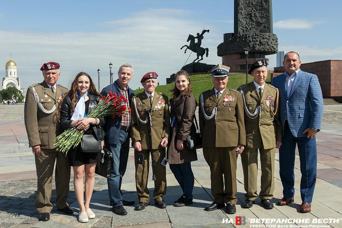 Российские и польские ветераны почтили память героев Второй Мировой