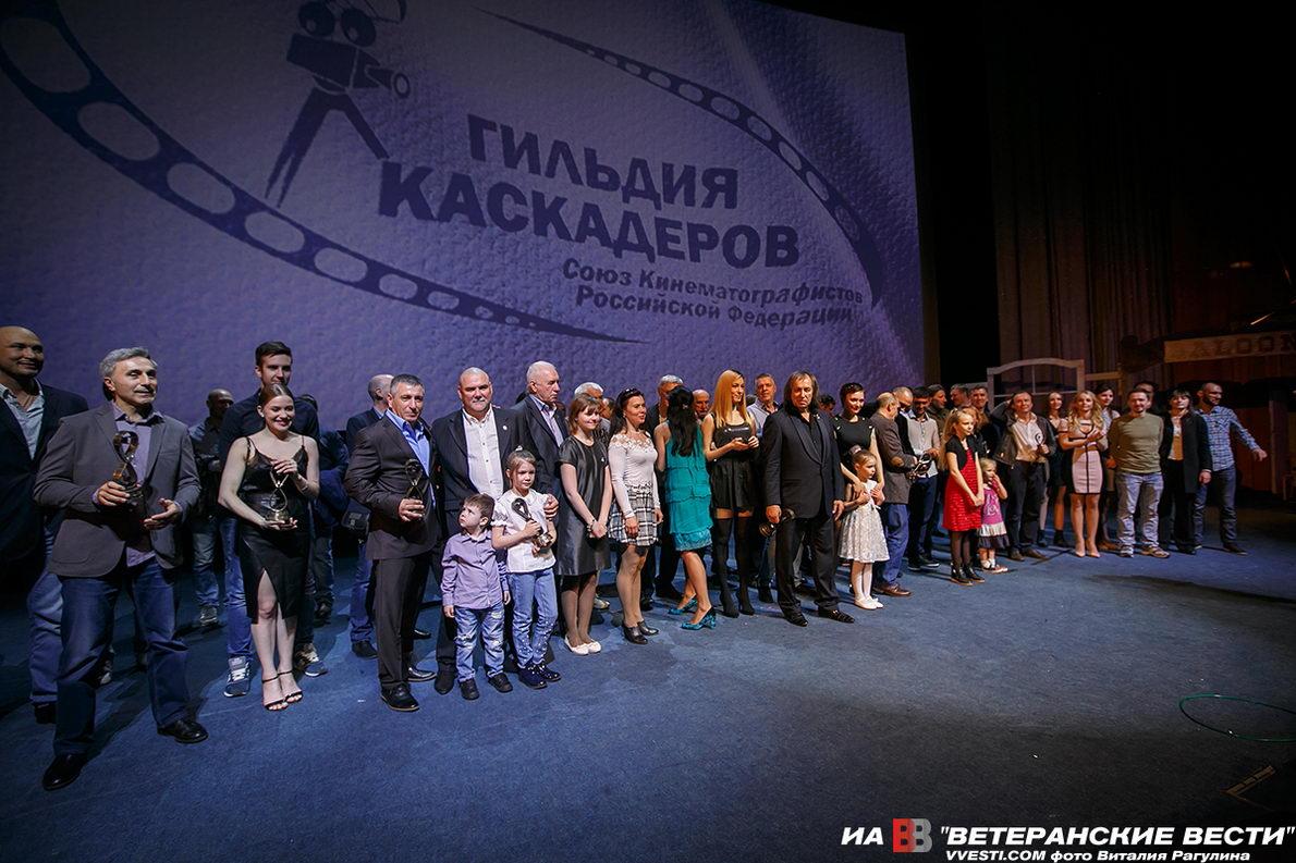 """В Москве вручили каскадёрскую премию """"Альтер Эго"""""""