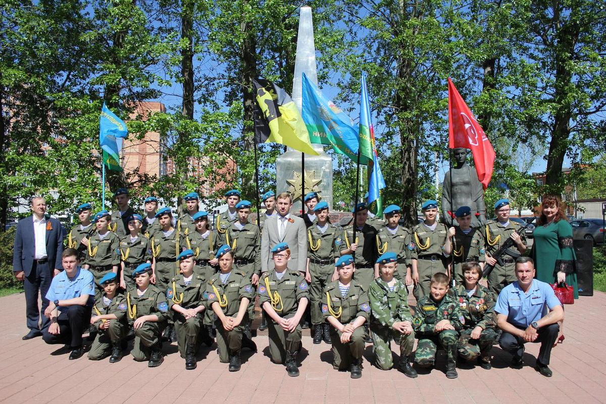 День Победы в микрорайоне Подрезково