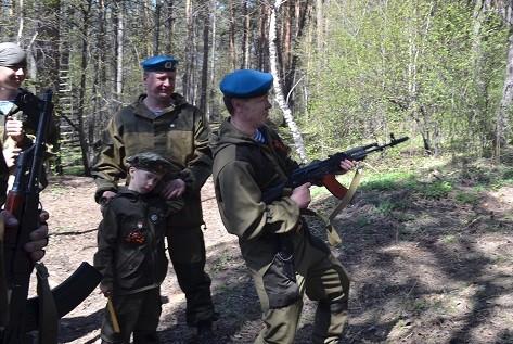 Показательные выступления курсантов на территории питомника К-9