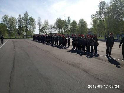 """ВСИ """"Зарница"""" в городе Усолье-Сибирское"""