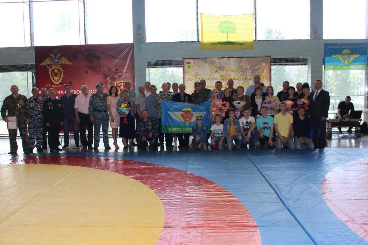 Открытое первенства города Липецка по греко-римской борьбе, памяти борцов и ветеранов боевых действий