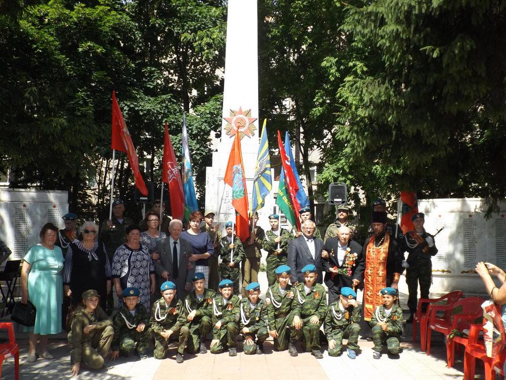 Приволжские десантники на митинге в День Памяти и Скорби