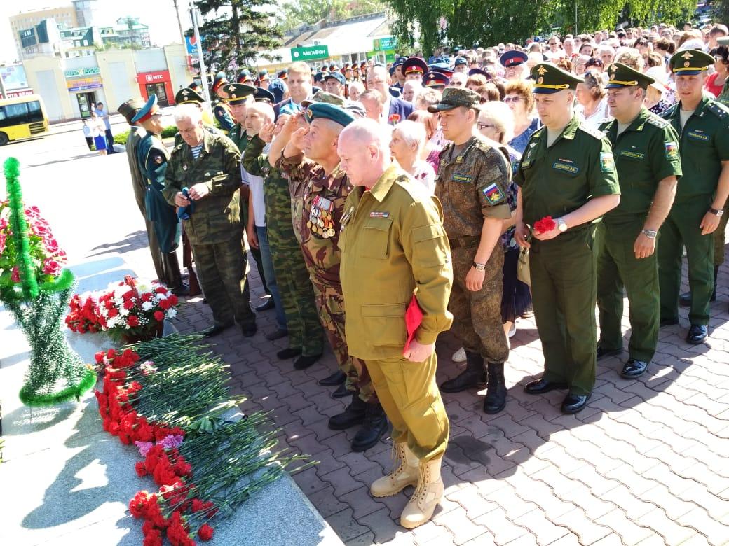 День памяти в Барнауле