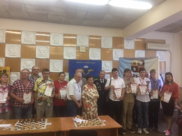 Открытый областной блиц –турнир по шахматам