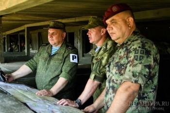 Совместное учение российских, белорусских и сербских десантников проводится в новом формате