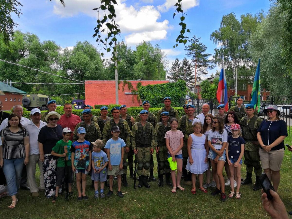 День славных боевых традиций в детском доме г. Орехово-Зуево