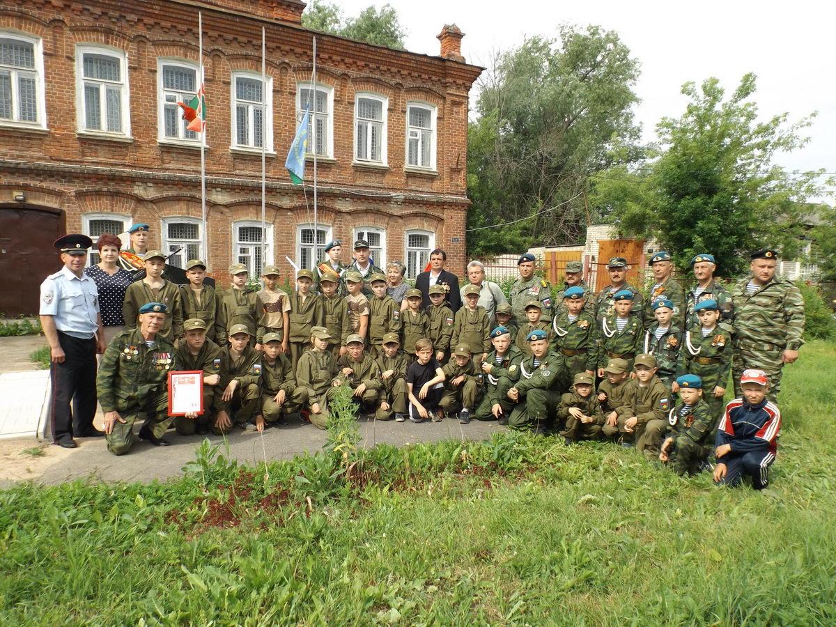 День ветеранов в Приволжске