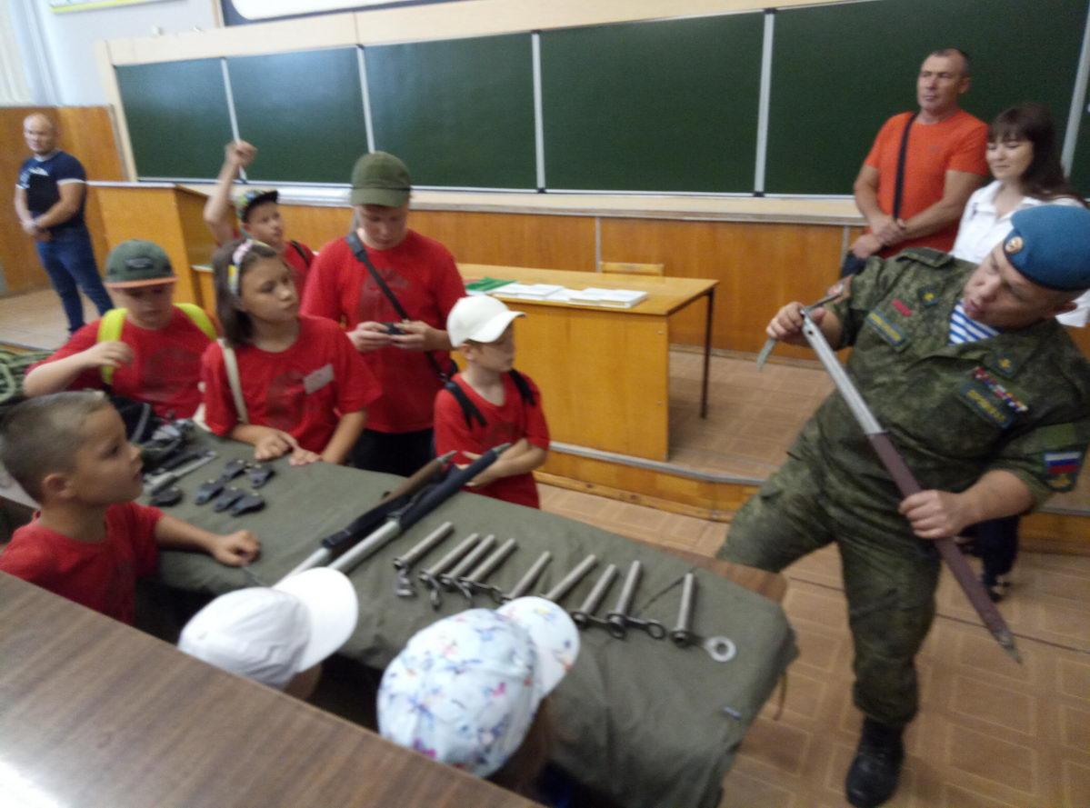 Знакомство с армейской школой