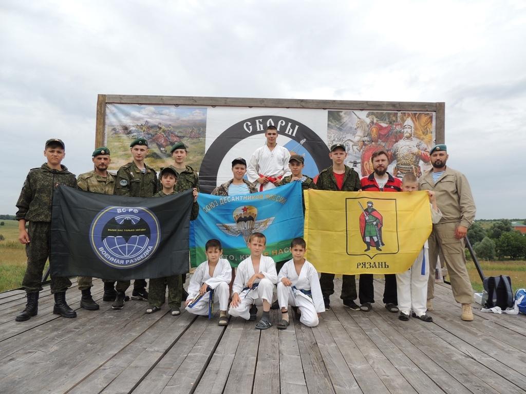 Военно-спортивные сборы «Православный воин»