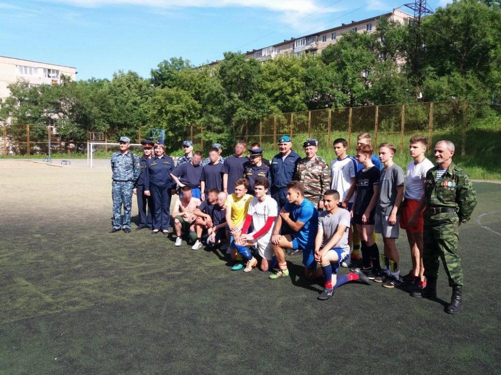 Союз десантников ПК и Находкинская воспитательная колония