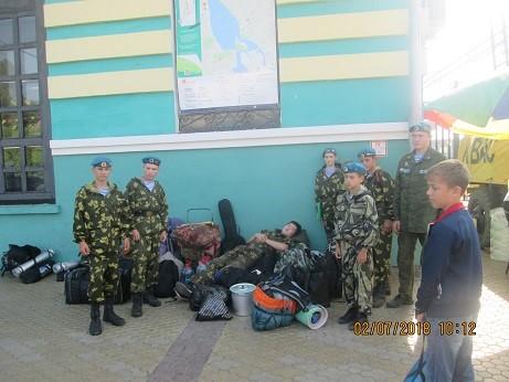 Полевой выход ККДП на Байкал