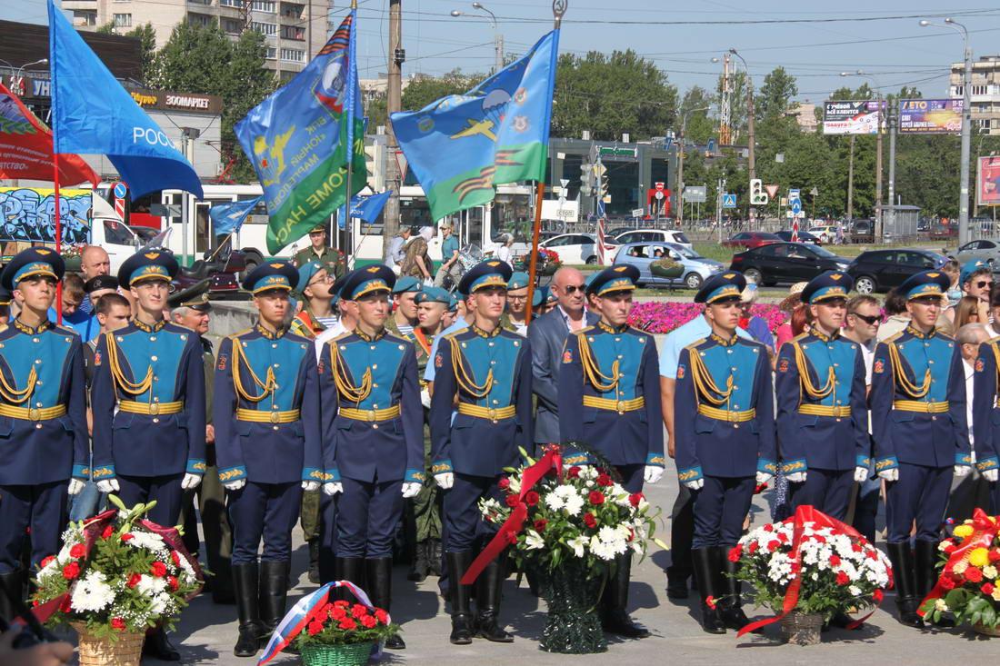 День Воздушно-десантных войск в Санкт-Петербурге