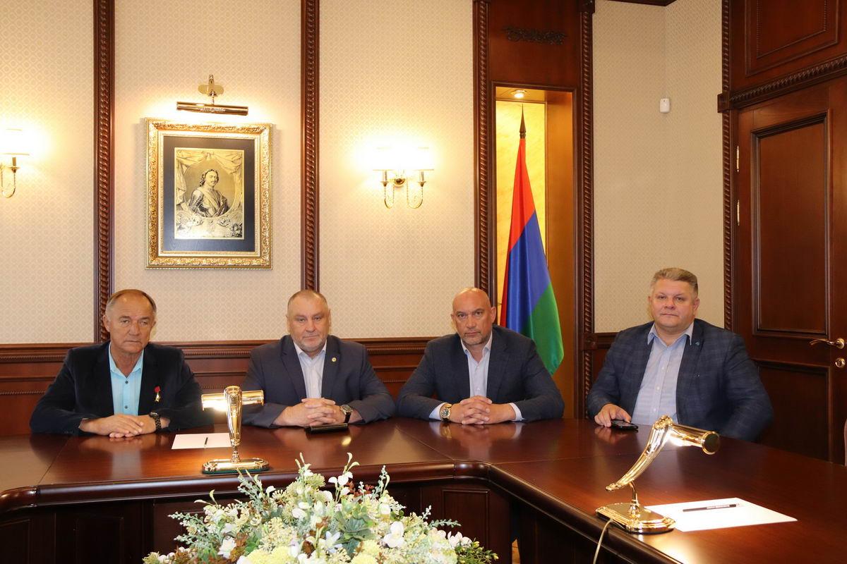 Рабочий визит руководителя Союза десантников России в Республику Карелия