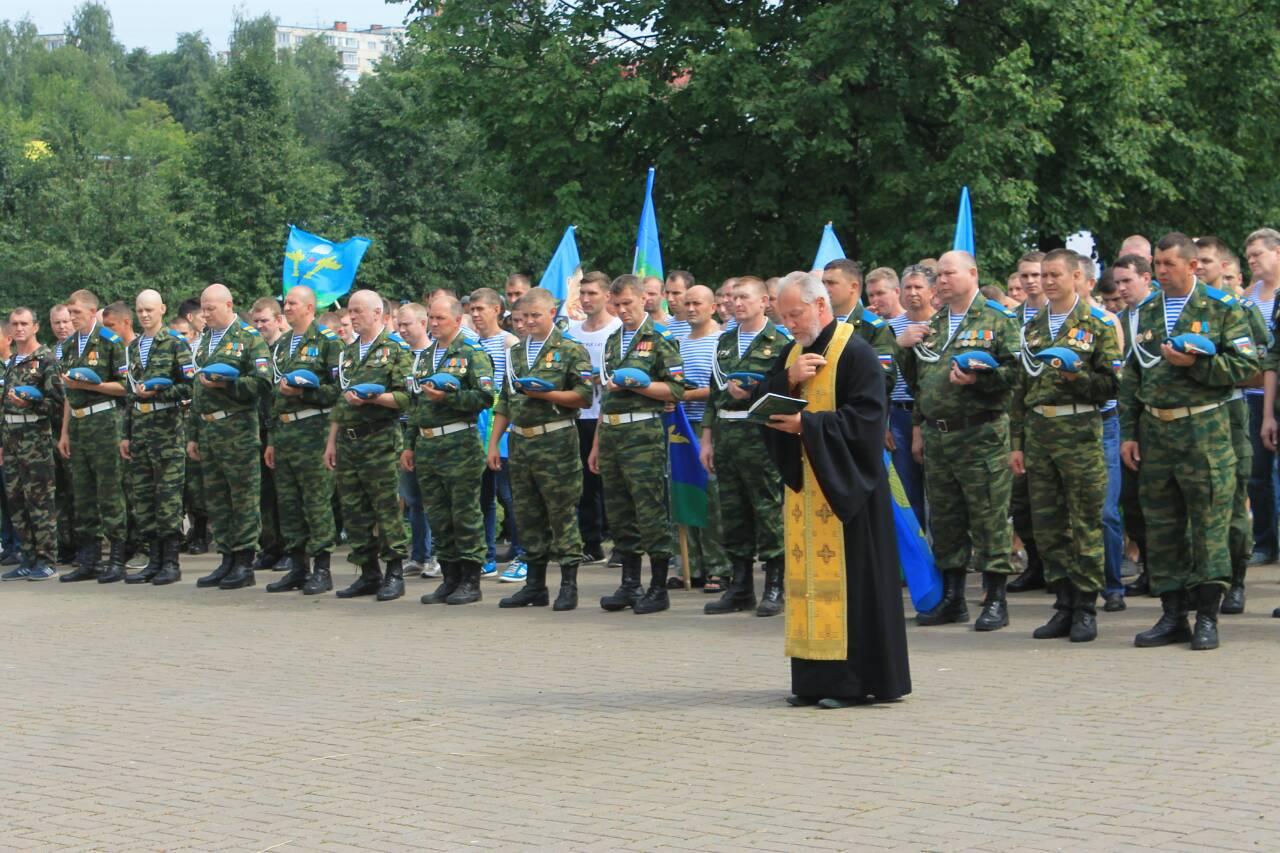 Празднование 88-й годовщины ВДВ в Ижевске