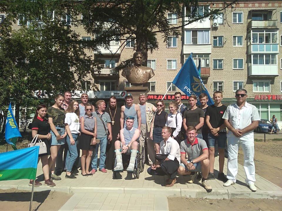 Профессиональный праздник Воздушно-десантных войск в г. Кинешма