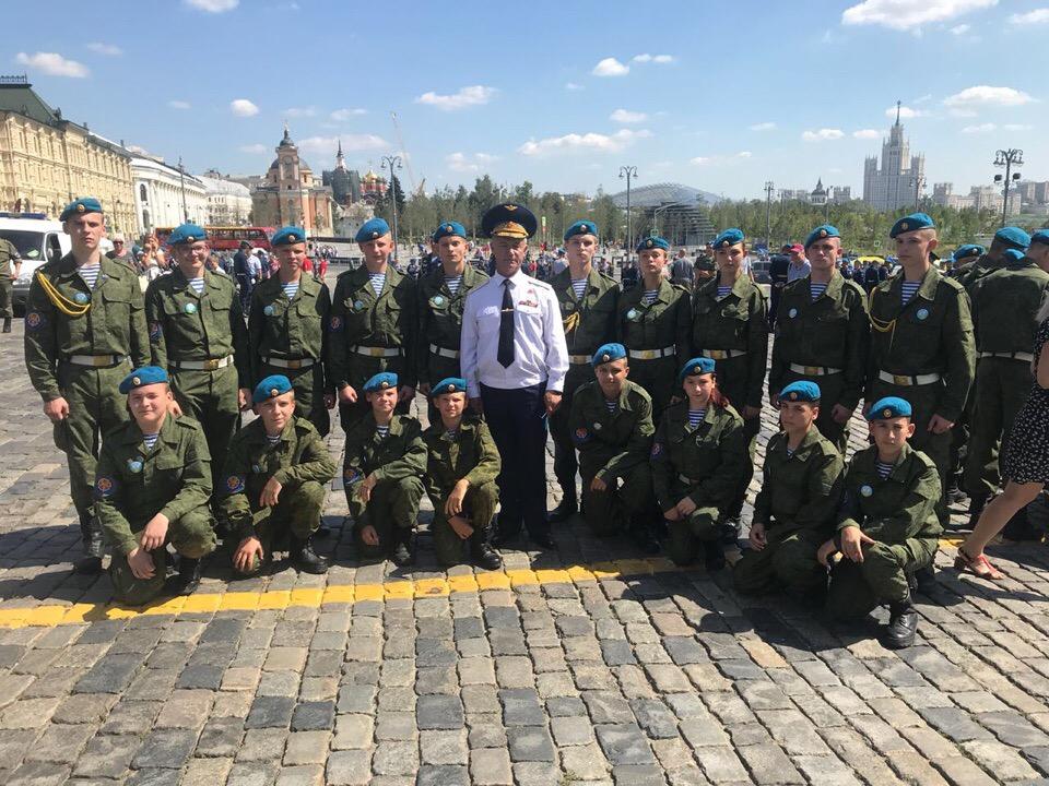 ВПО «СОВА» г.о. Химки на Красной площади 2 августа 2018 года 88-лет ВДВ