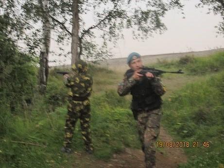 Полевой выход, организованный для курсантов ККДП с 19.08.2018. по 22.08.2018