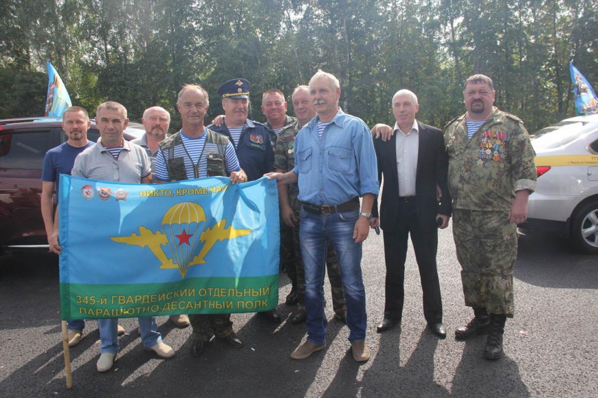 Встреча на границе Ульяновской и Пензенской области