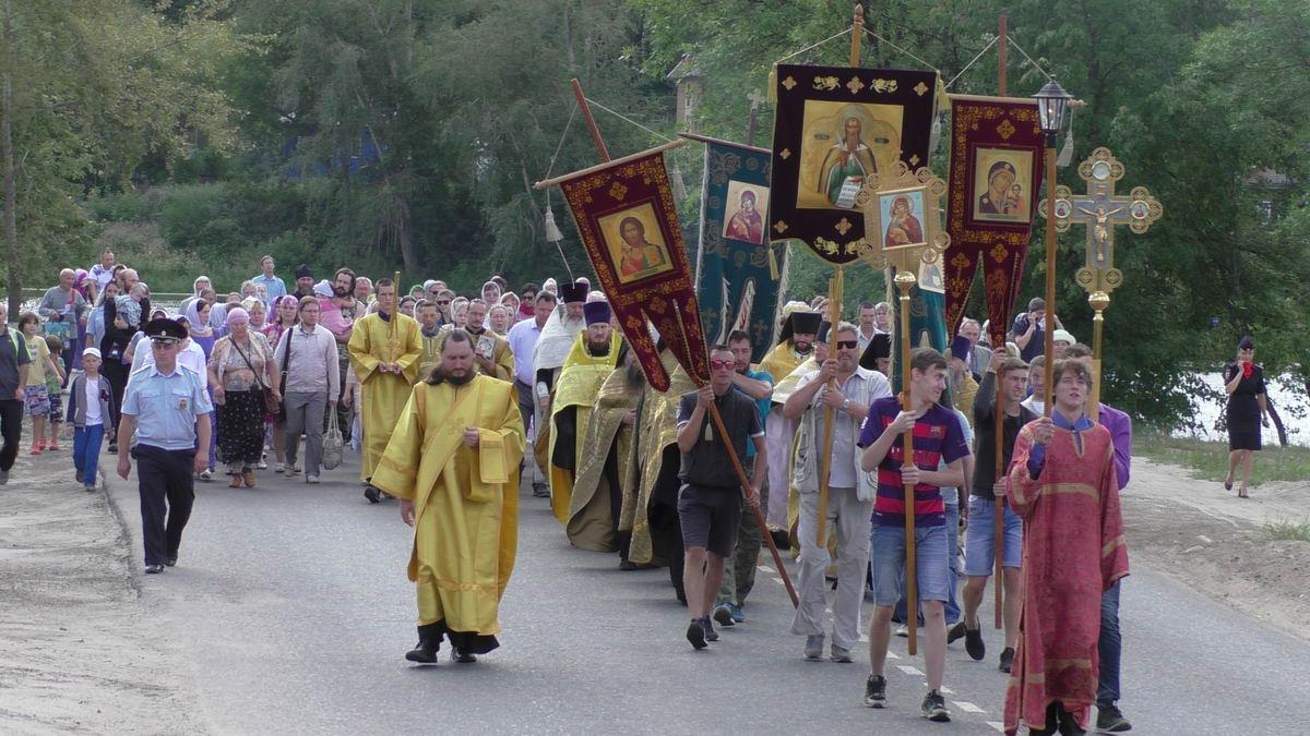 День памяти святителя Василия в г. Кинешма