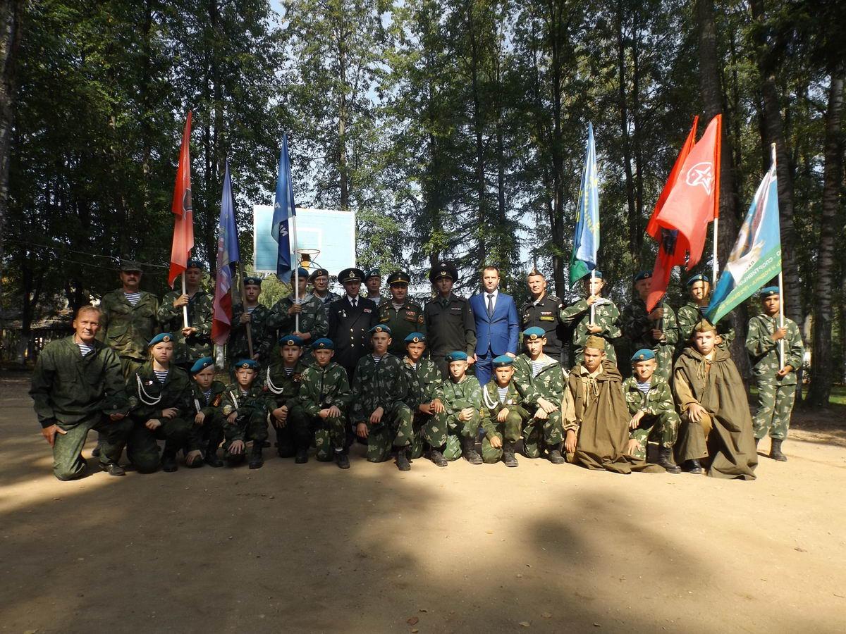 ВСК «Патриот» на открытии патриотического лагеря