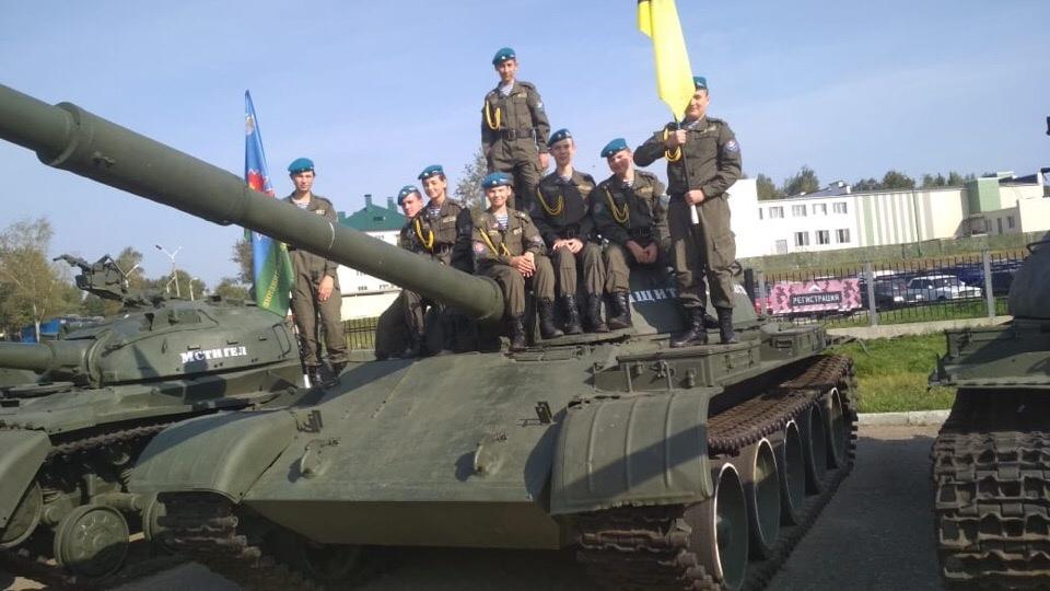 ВПО «СОВА» приняли участие в мероприятии «Наследники Победы»