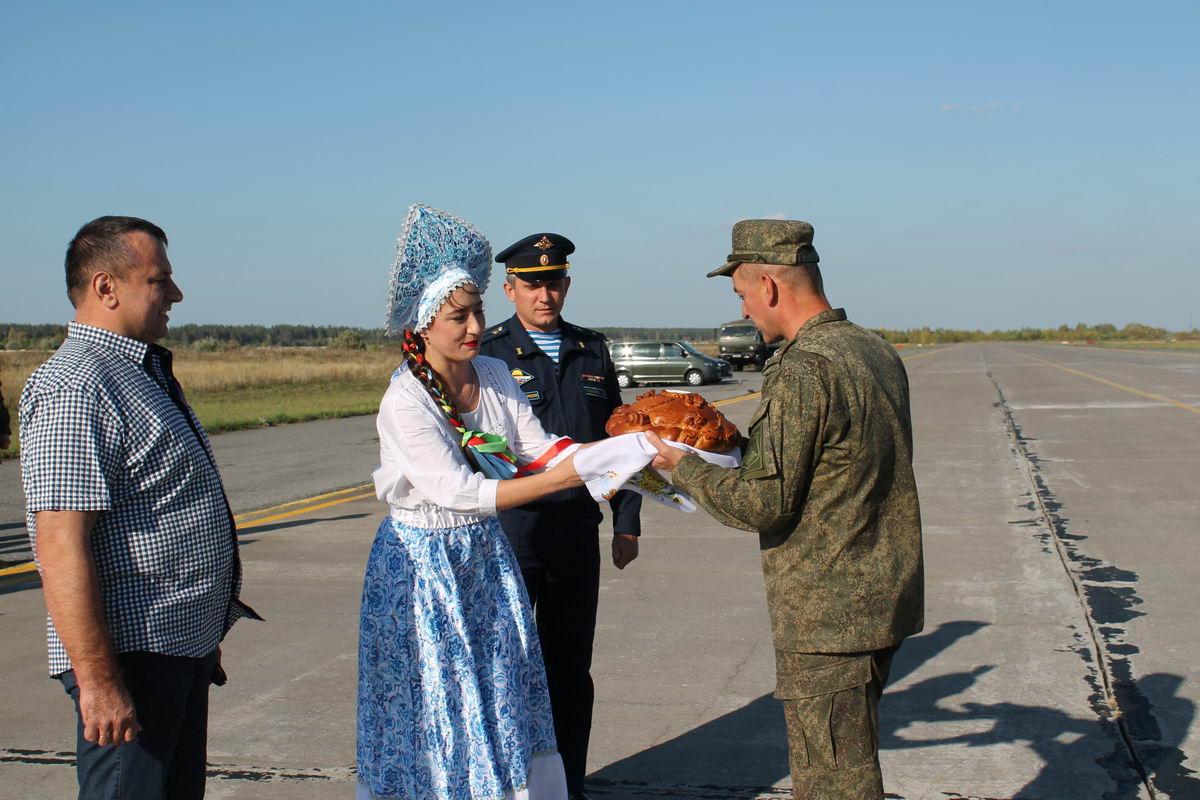 Торжественная встреча личного состава 31-й ОДШБр