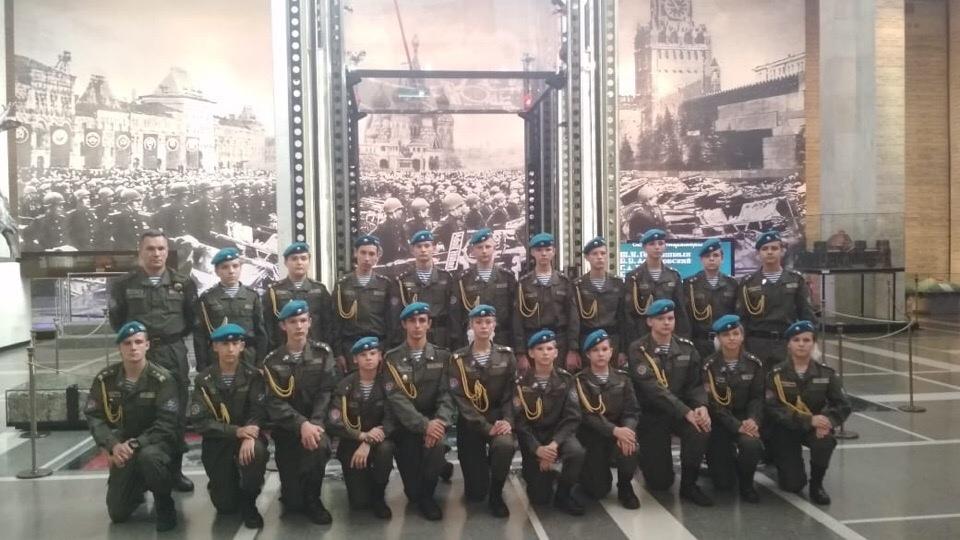 Воспитанники ВПО «СОВА» приняли участие в Акции «Сердце солдатской матери»