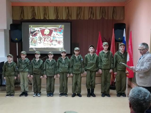 Торжественное мероприятие в честь 100-летия ВЛКСМ в Приволжске