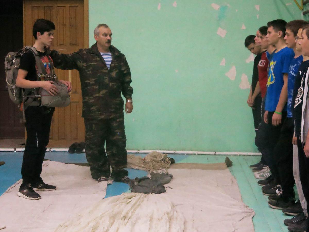 «Начальная военная подготовка в старших классах школ города»