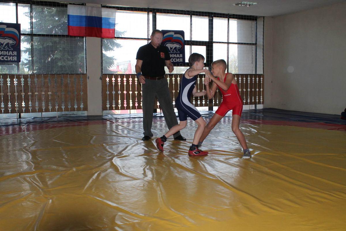 Первенство Липецкой области по греко-римской борьбе среди юношей 2006-2007 г.р.
