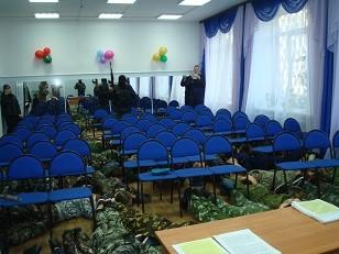 "Урок ""Антитеррор"" в Ангарске"