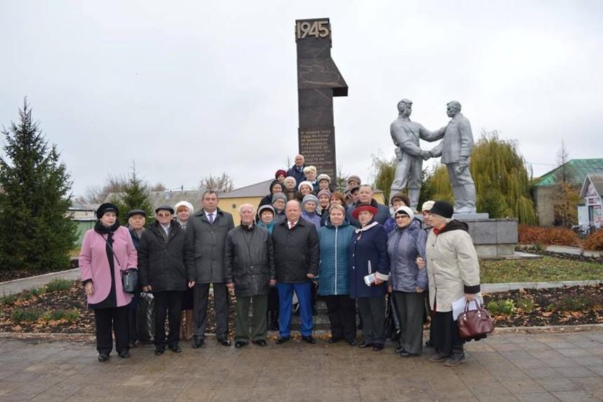 В Петровском районе отметили годовщину сбора средств на танковую колонну «Тамбовский колхозник»
