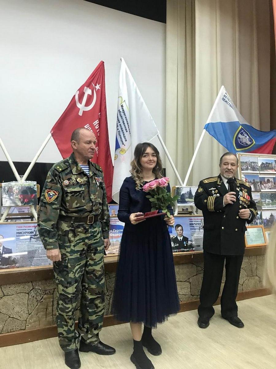 Спортсменка, десантница и просто красавица Лиза Агаркова