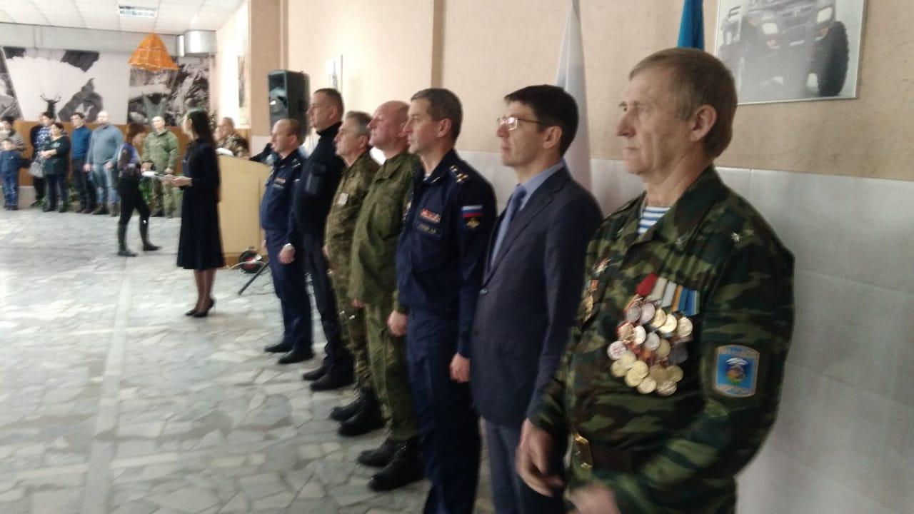 Торжественная присяга юнармейцев из города Альметьевск