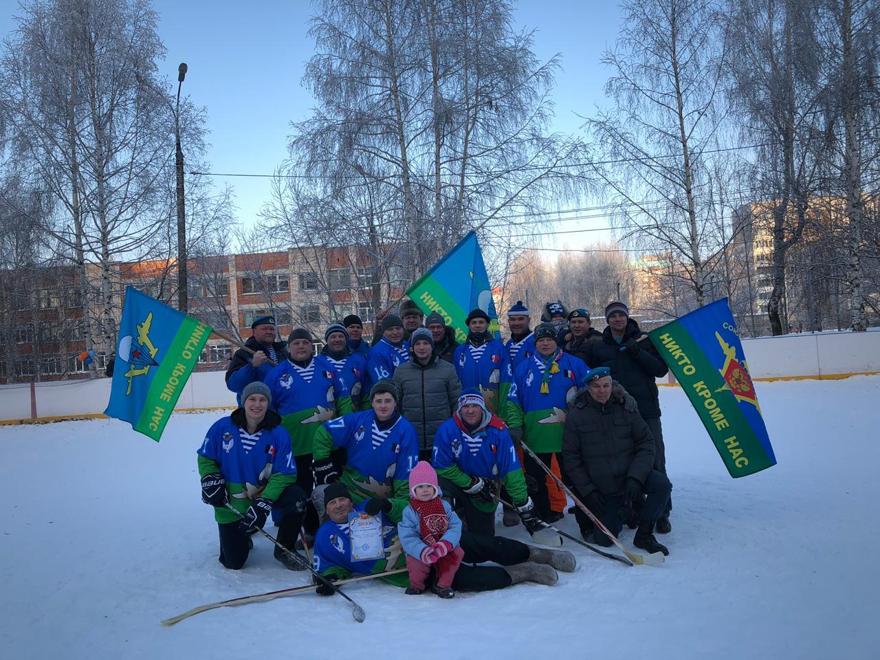 Чемпионат Ижевска по хоккею на валенках
